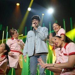Flavio en la Gala 3 de 'OT 2020'