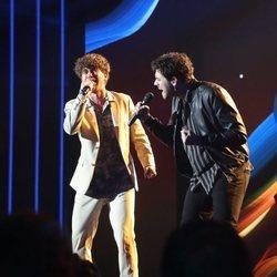 Jesús Rendón y Javy en la Gala 3 de 'OT 2020'