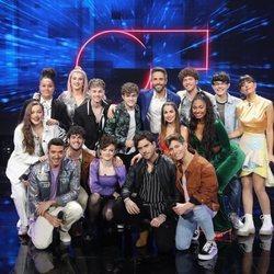 Los concursantes de 'OT 2020' durante la Gala 3