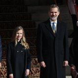 El Rey Felipe VI y la Princesa Leonor en la Apertura de la XIV Legislatura