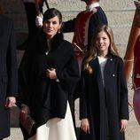 La Reina Letizia y la Infanta Sofía en la Apertura de la XIV Legislatura