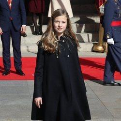 La Princesa Leonor en la Apertura de la XIV Legislatura