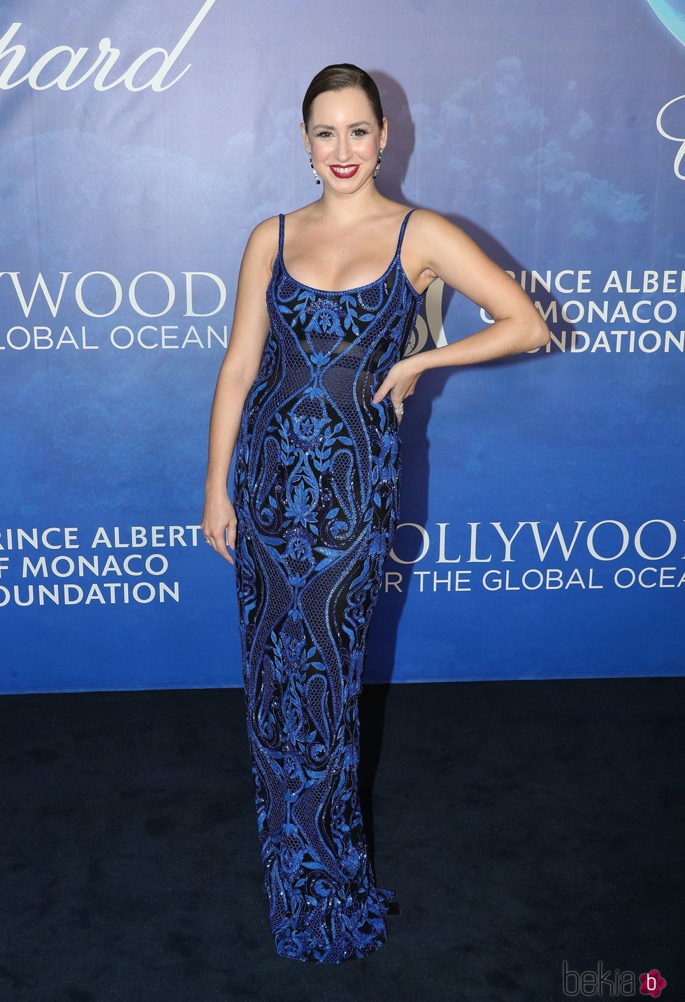 Jazmin Grace Grimaldi en la Global Ocean Gala 2020