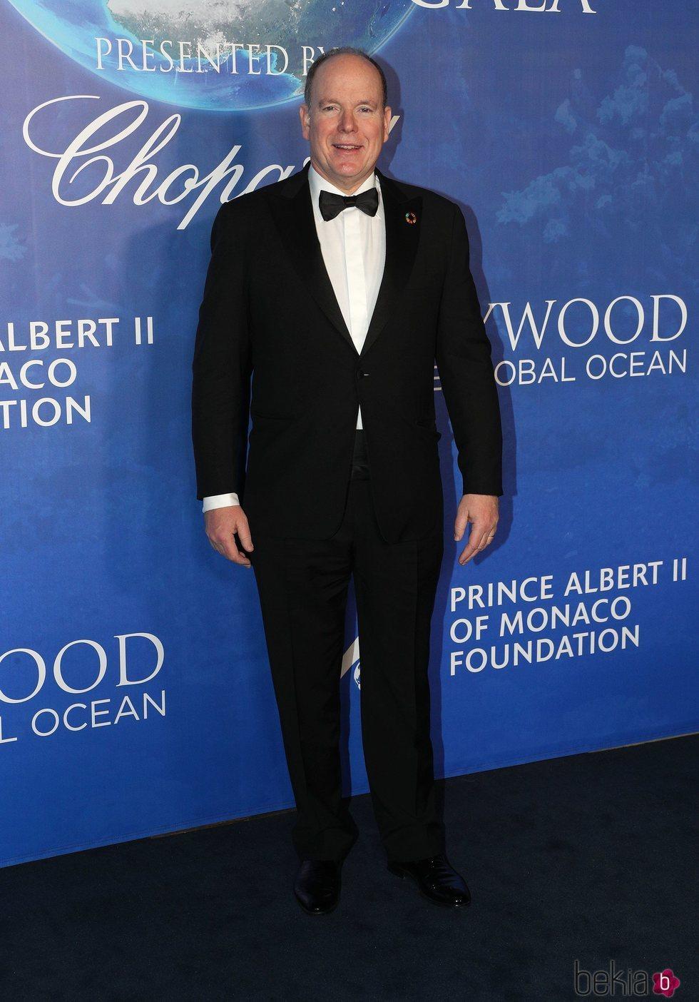 Alberto de Mónaco en la Global Ocean Gala 2020