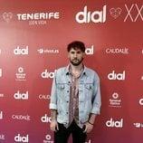 Dani Fernández en la presentación de los Premios Cadena Dial 2020