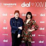 Amaral en la presentación de los Premios Cadena Dial 2020