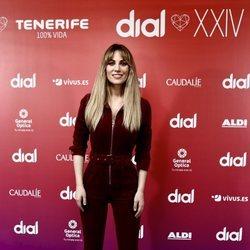 Edurne en la presentación de los Premios Cadena Dial 2020