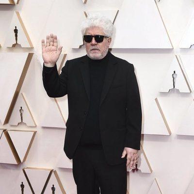 Pedro Almodóvar en la alfombra de los Oscar 2020