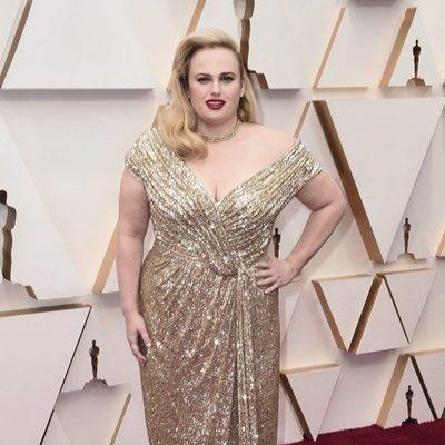 Rebel Wilson en la alfombra de los Oscar 2020