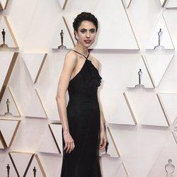 Margaret Qualley en la alfombra de los Oscar 2020