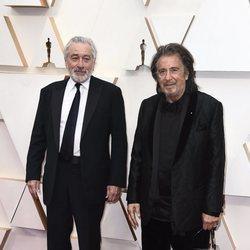 Robert De Niro y Al Pacino en la alfombra de los Oscar 2020