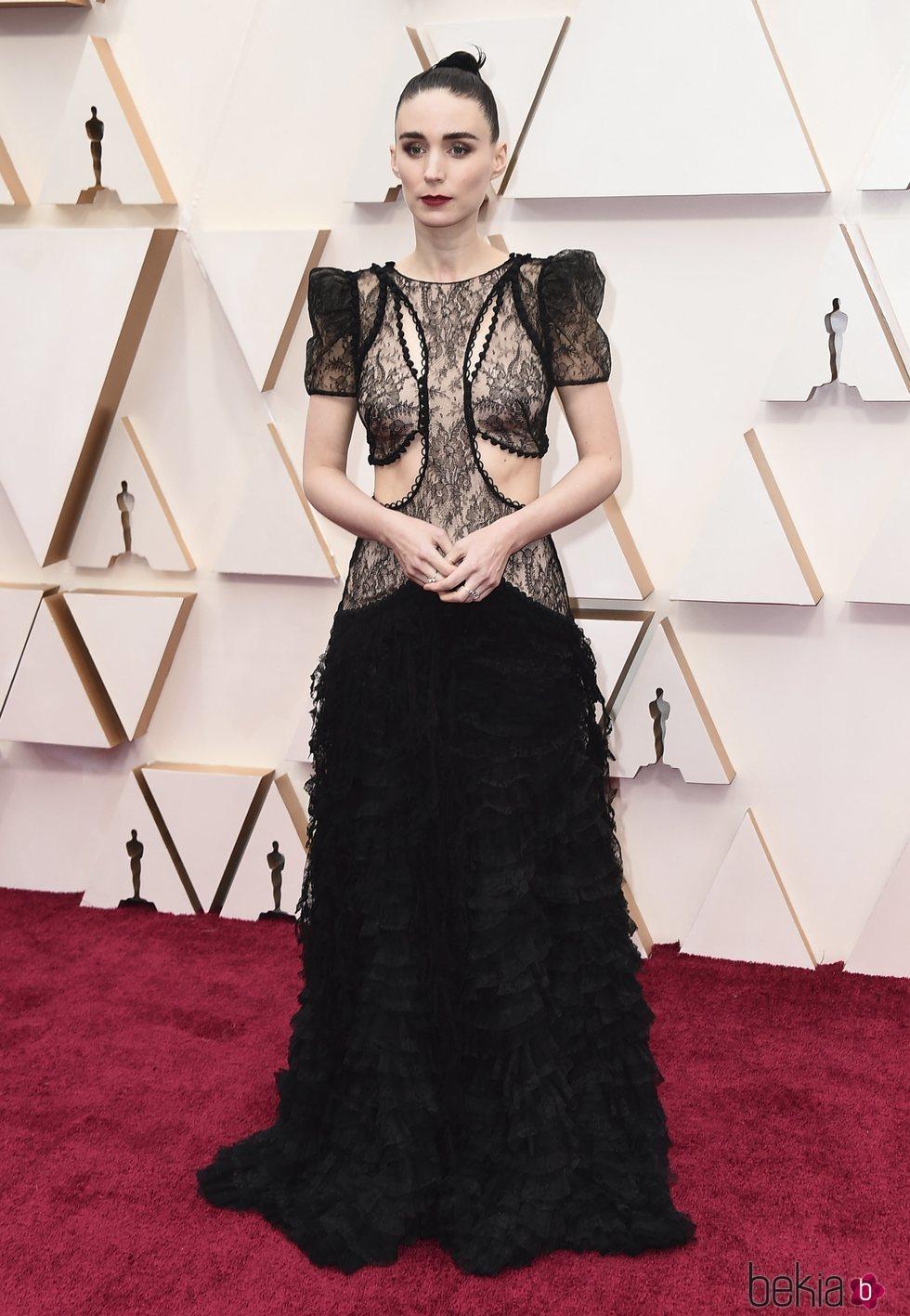 Rooney Mara en la alfombra de los Oscar 2020