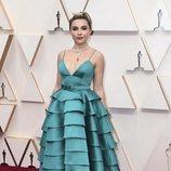 Florence Pugh en la alfombra de los Oscar 2020