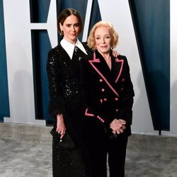 Sarah Paulson y Holland Taylor en la fiesta de Vanity Fair tras los Oscar 2020