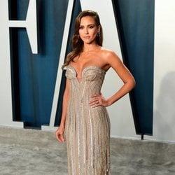 Jessica Alba en la fiesta de Vanity Fair tras los Oscar 2020