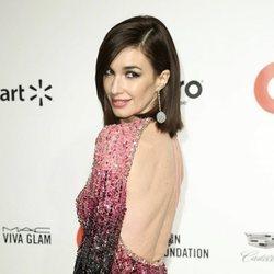 Paz Vega presumiendo de vestido en la fiesta organizada por Elton John tras los Oscar 2020