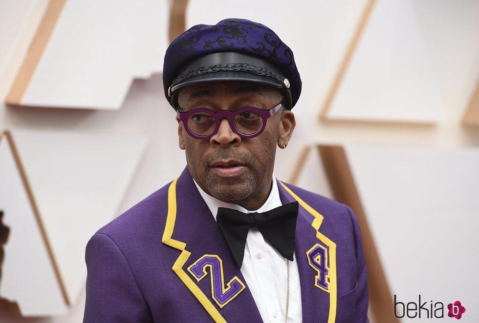 Spike Lee Lee  en la alfombra de los Oscar 2020