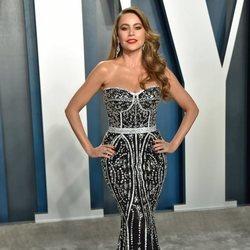 Sofia Vergara en la fiesta de Vanity Fair tras los Oscar 2020