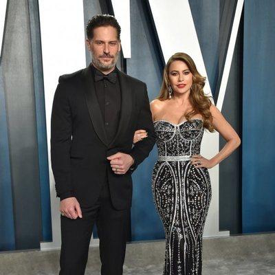 Joe Manganiello y Sofia Vergara en la fiesta de Vanity Fair tras los Oscar 2020