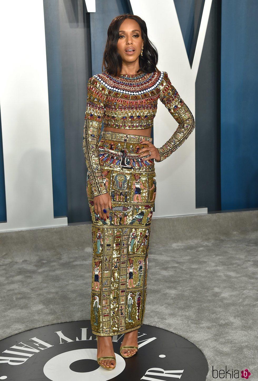 Kerry Washington en la fiesta de Vanity Fair tras los Oscar 2020