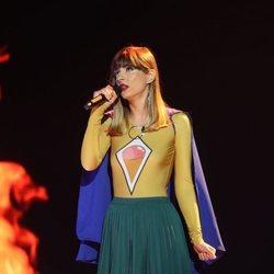 Maialen durante su actuación en la Gala 4 de 'OT 2020'