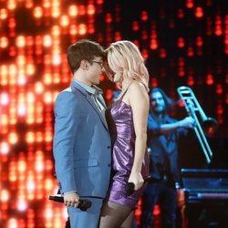 Samantha y Flavio en la Gala 4 de 'OT 2020'