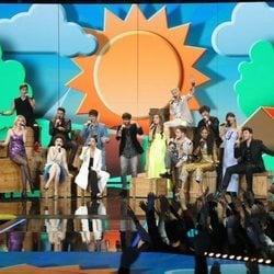 Actuación grupal de la Gala 4 de 'OT 2020'