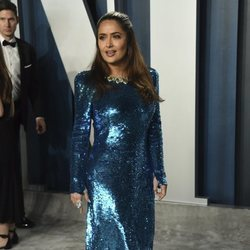 Salma Hayek en la fiesta de Vanity Fair tras los Oscar 2020