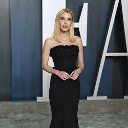 Emma Roberts en la fiesta de Vanity Fair tras los Oscar 2020