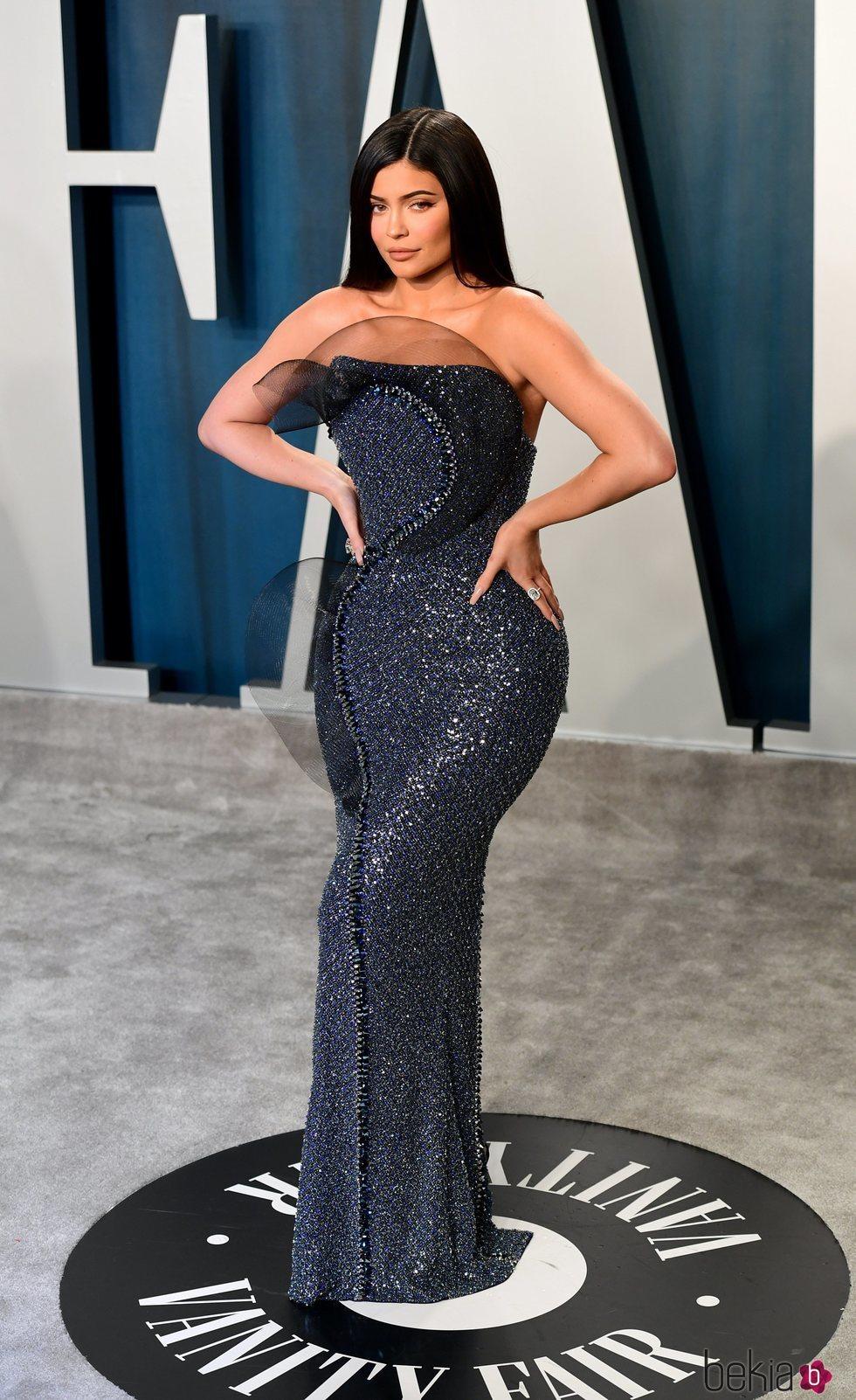 Kylie Jenner en la fiesta de Vanity Fair tras los Oscar 2020
