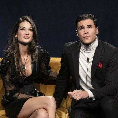 Estela Grande y Kiko Jiménez se reencuentran en la Gala 5 de 'El tiempo del descuento'