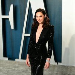 Gal Gadot en la fiesta de Vanity Fair tras los Oscar 2020
