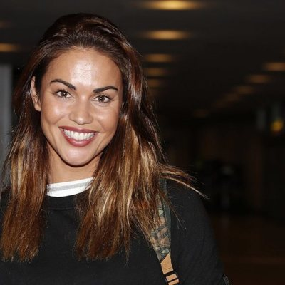 Lara Álvarez, muy sonriente antes de viajar a Honduras para 'Supervivientes 2020'
