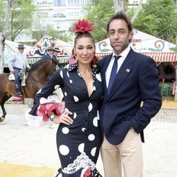Raquel Revuelta y Miguel Ángel Jiménez en la Feria de Abril 2008