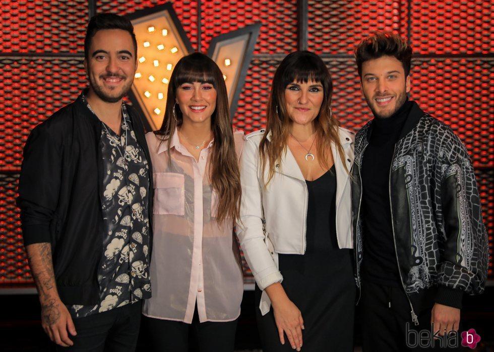 Beret, Aitana Ocaña, Rozalén y Blas Cantó, asesores de 'La Voz Kids'