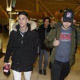 Jaime Ferre, Alejandro Reyes y Cristian Suescun antes de viajar a Honduras para 'Supervivientes 2020'