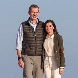 Los Reyes Felipe y Letizia en el Parque Natural de Doñana
