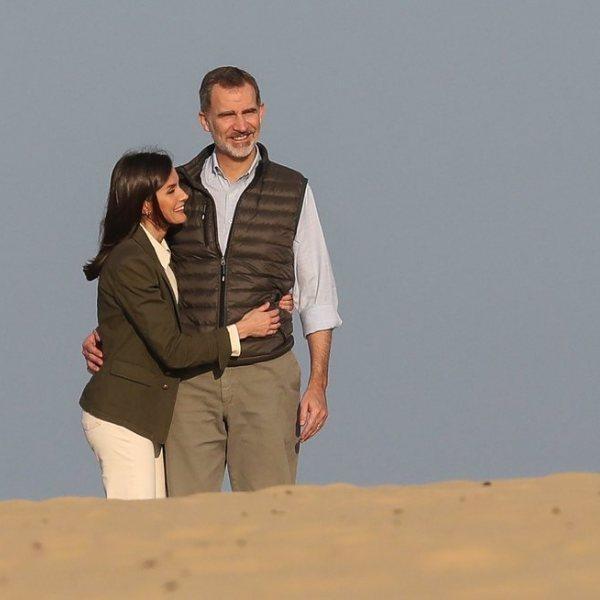 Visita de los Reyes Felipe y Letizia al parque de Doñana y Salúcar de Barrameda