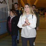 Ivana Icardi camino a Honduras