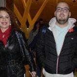Vicky Larraz y José Antonio Avilés camino a 'Supervivientes 2020'