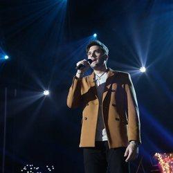 Javy durante su actuación en la Gala 5 de 'OT 2020'