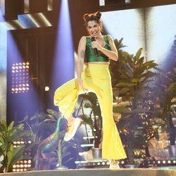 Anaju durante su actuación en la Gala 5 de 'OT 2020'