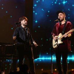 Dani Fernández y Nil Moliner en la Gala 5 de 'OT 2020' como invitados