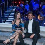 Pol Badía y Nuria MH en la gala final de 'El tiempo del descuento'