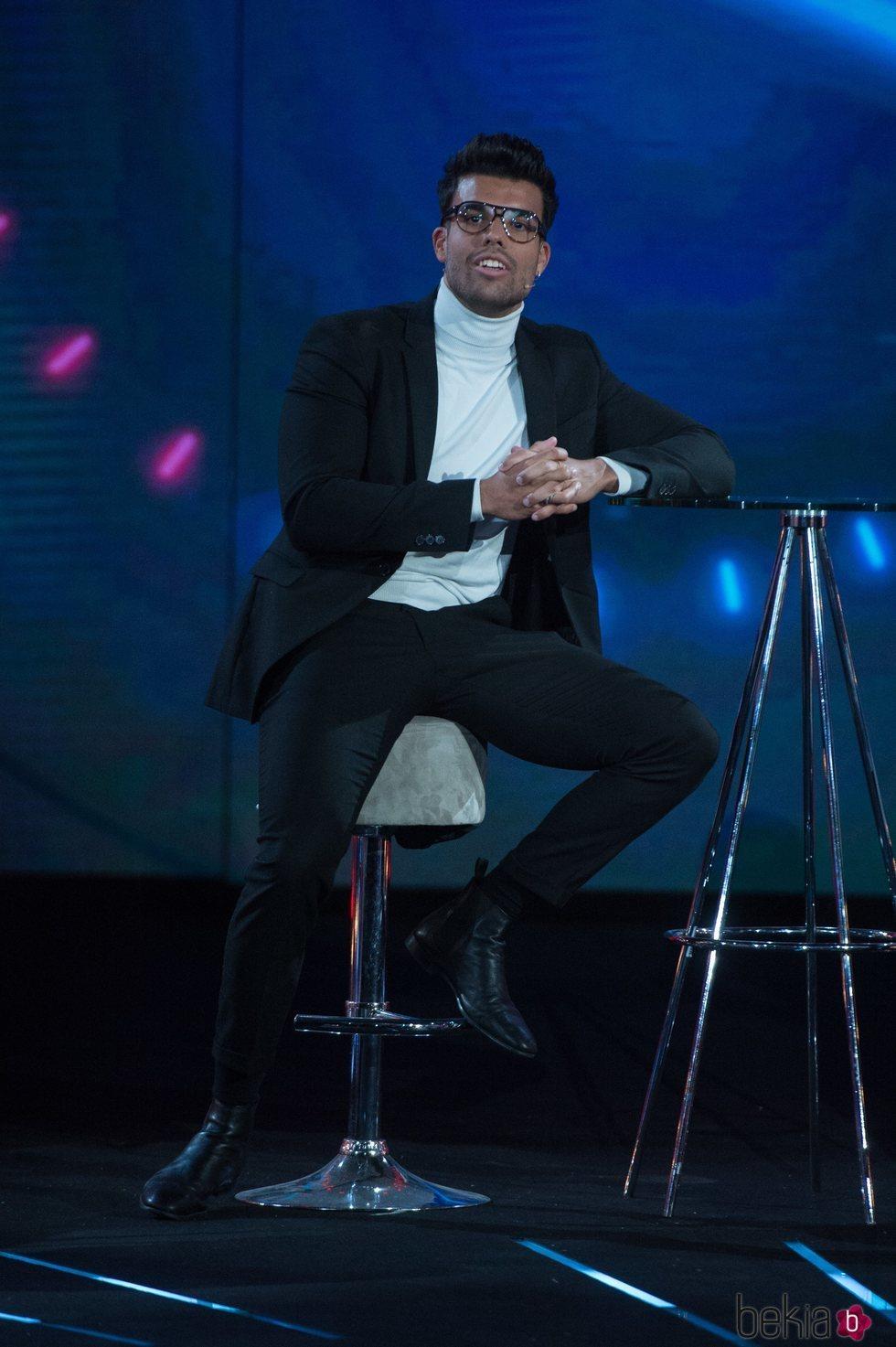 Pol Badía en la gala final de 'El tiempo del descuento'