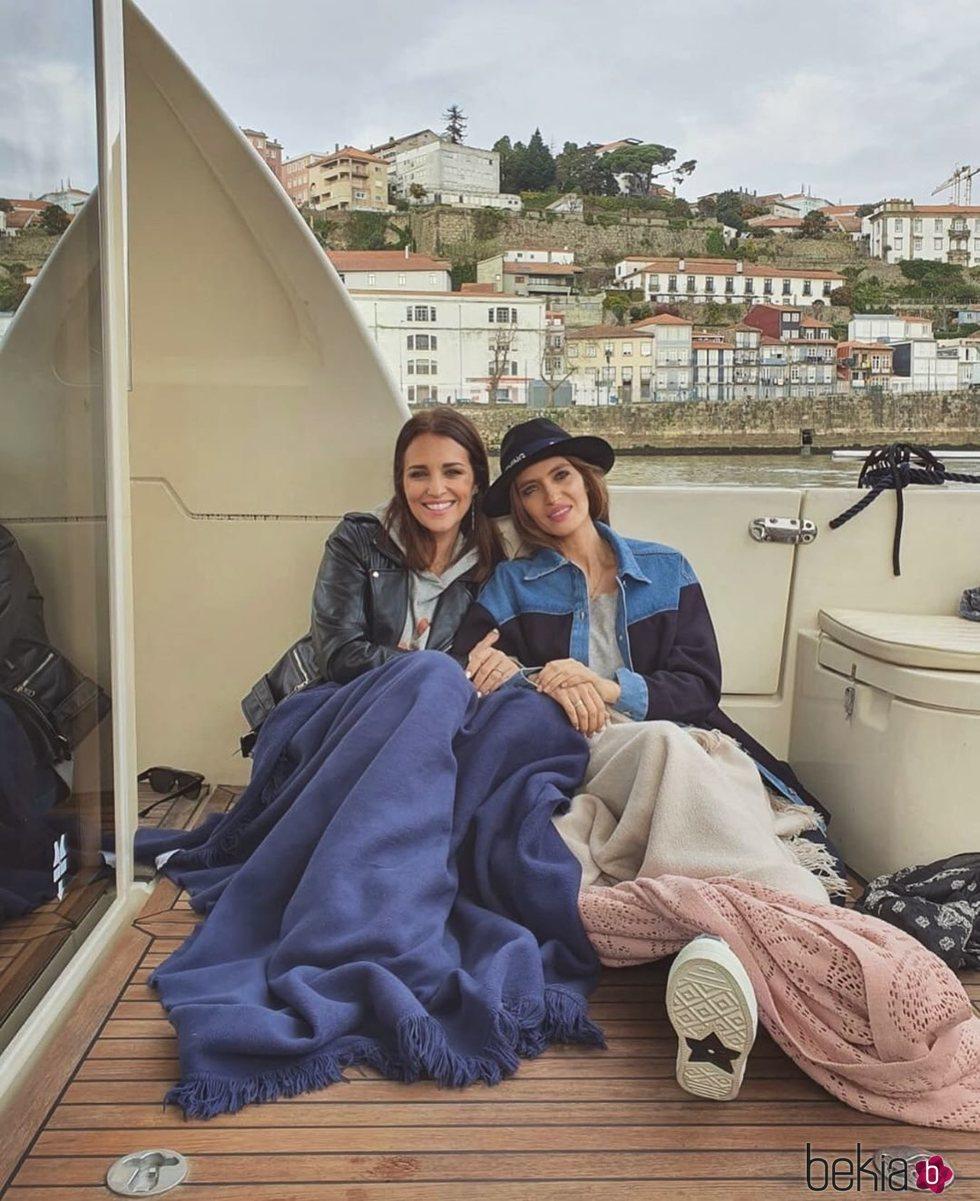 Paula Echevarría y Sara Carbonero, juntas en Oporto