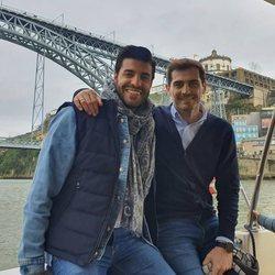 Miguel Torres e Iker Casillas, juntos en Oporto