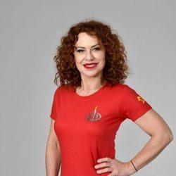Vicky Larraz en la foto oficial de 'Supervivientes 2020'