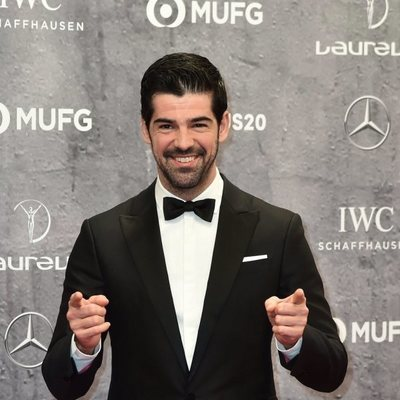 Miguel Ángel Muñoz en los Premios Laureus 2020