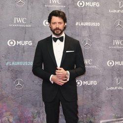 Álvaro Morte en los Premios Laureus 2020